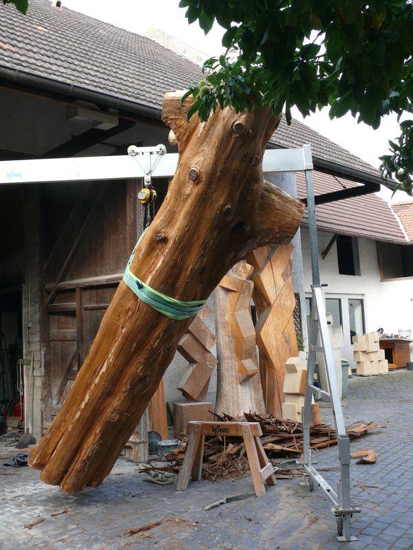 "Skulptur ""Die Himmelstreppe"""
