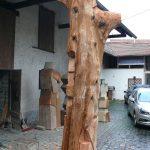 """Skulptur """"Die Himmelstreppe"""" Arbeitsprozess"""